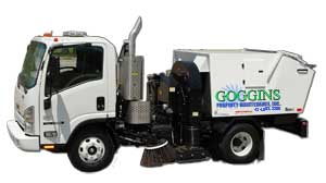 Goggins Property Maintenance Truck
